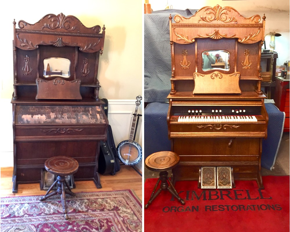 Before and After - organ from Georgia
