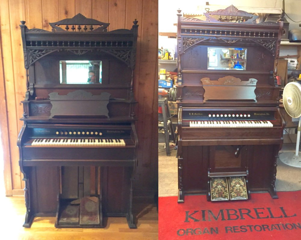 Forbes - Before and After Restoration